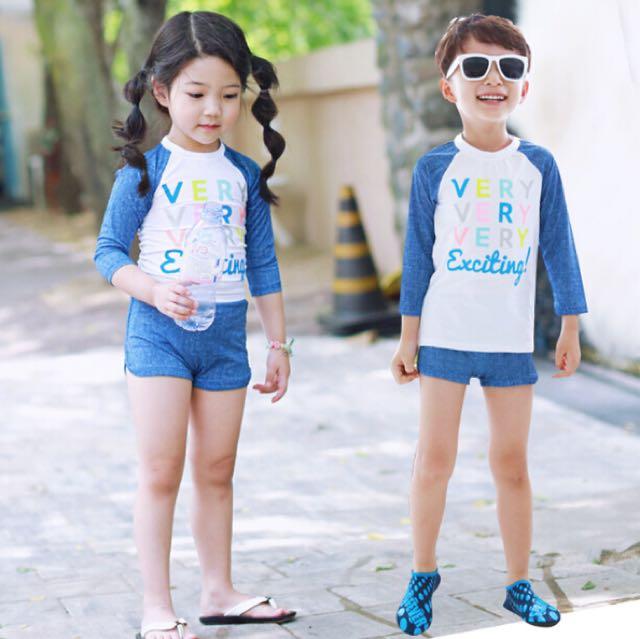 09dfba114e Swimming suit kids (Instock), Babies & Kids, Girls' Apparel on Carousell