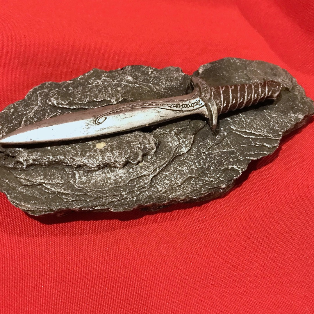 Sword on a stone (resin)