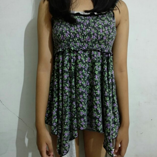 Floral Top Swirl *freeongkir