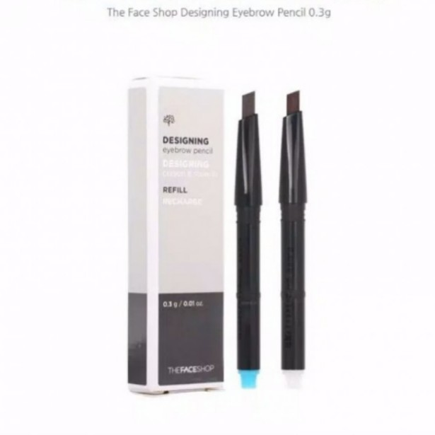 The Face Shop Designing Eyebrow Pencil Refill Health Beauty