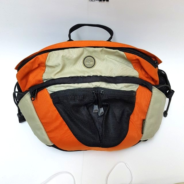 392e1d09972 Timberland Waist Pack/ Bag (Black, Orange) for Travel, Hiking, Men's  Fashion, Bags & Wallets on Carousell