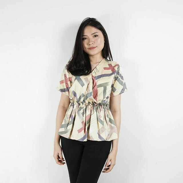 Timothy Textured Blouse