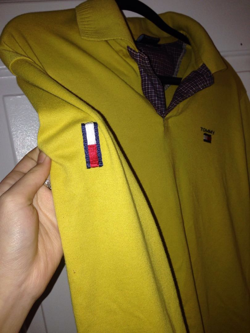 Tommy Hilfiger collared long sleeved