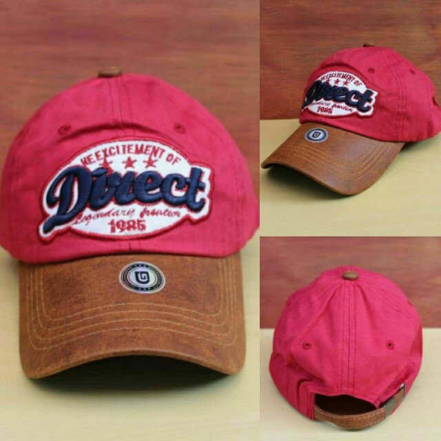 Topi Import Direct Red