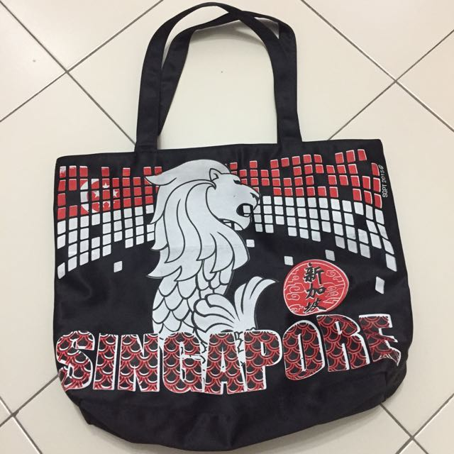 Tote Bag from Singapore #Bajet20