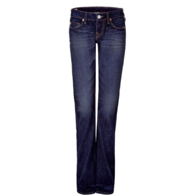 True religion straits legs no stretch jeans NWT 424$ Autentique
