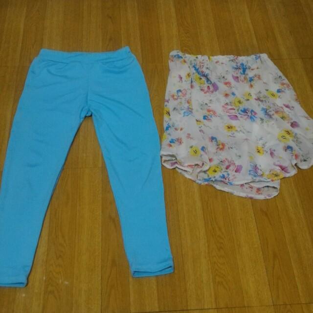 Tube top and leggings set