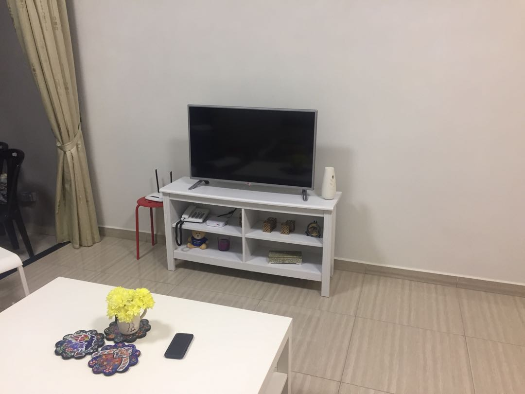 tv bench ikea, home & furniture, furniture on carousell