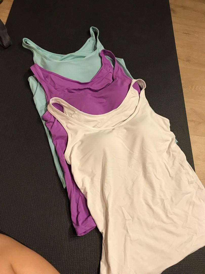 1e10d6d5 Uniqlo airism bra top tank sleeveless, Women's Fashion, Clothes ...