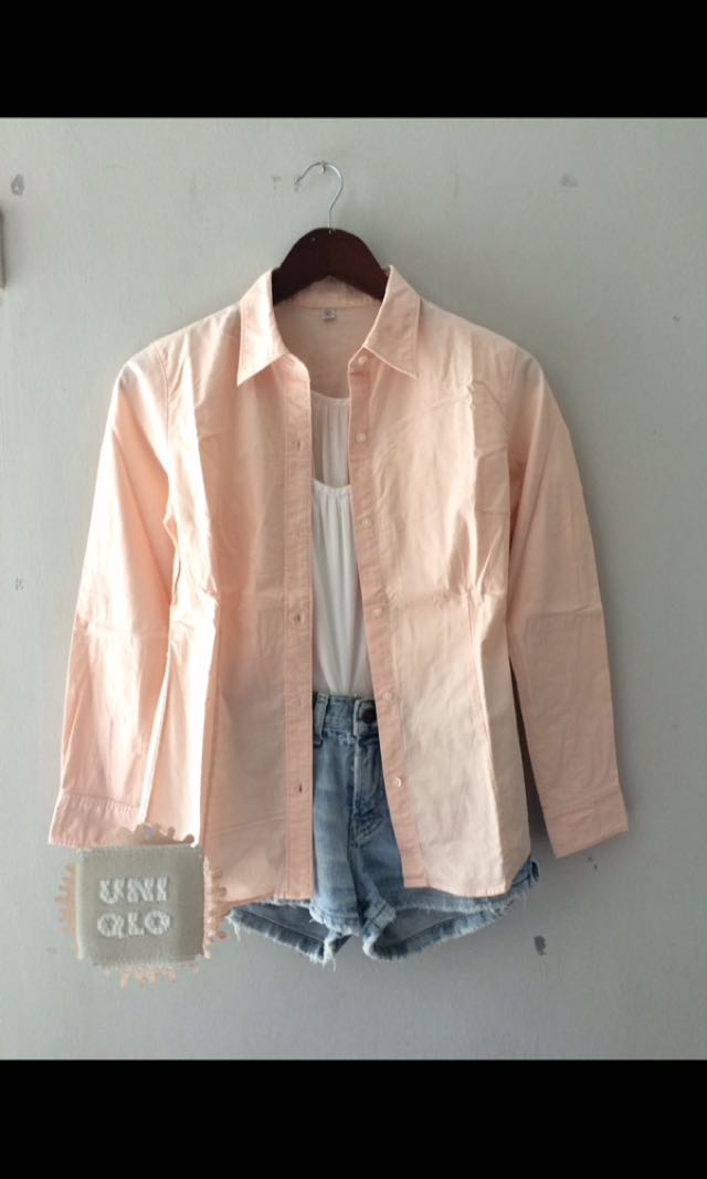 Uniqlo Peach Shirt