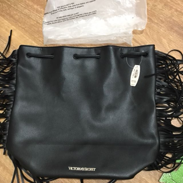 Victoria's Secret Backpack Leather Brand New