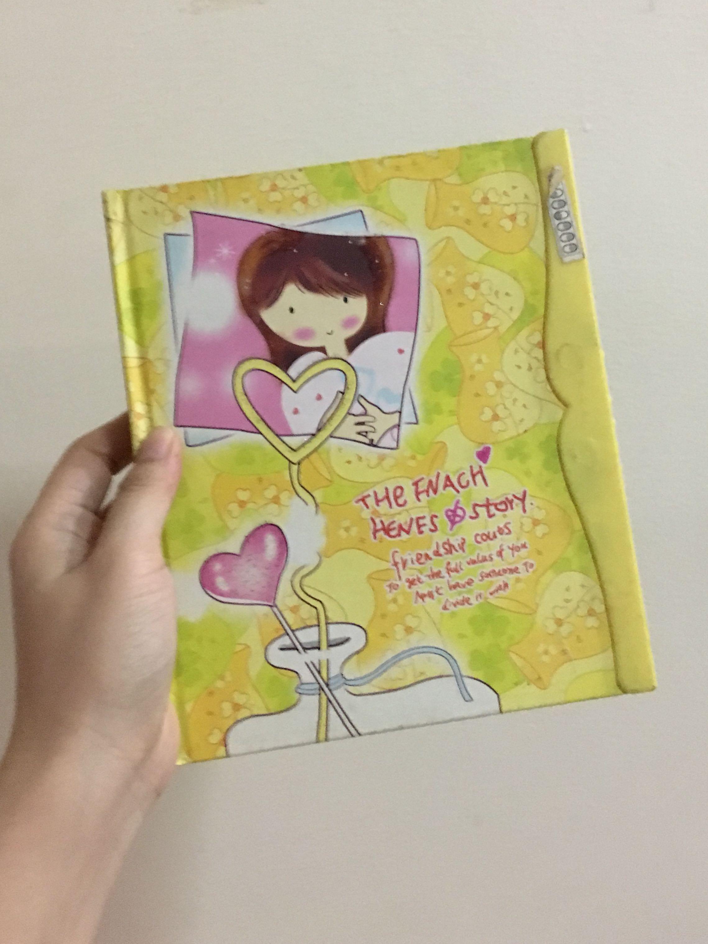 Yellow Diary Notebook