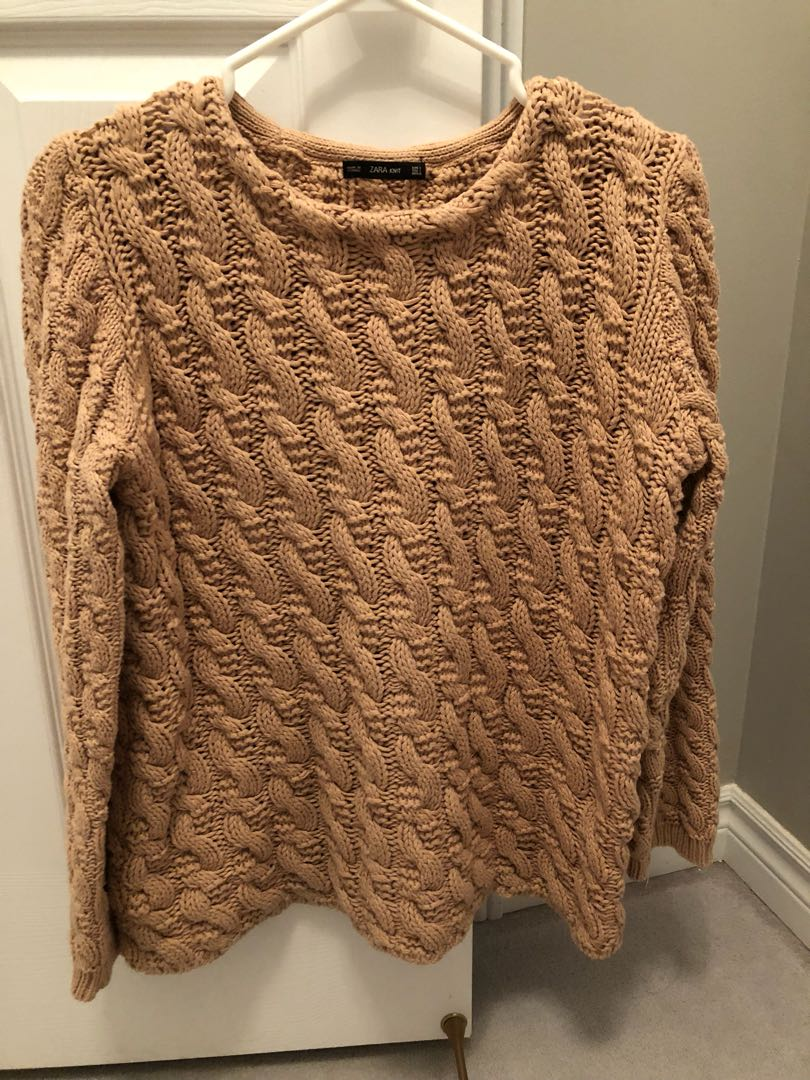 Zara Cable-knit Sweater