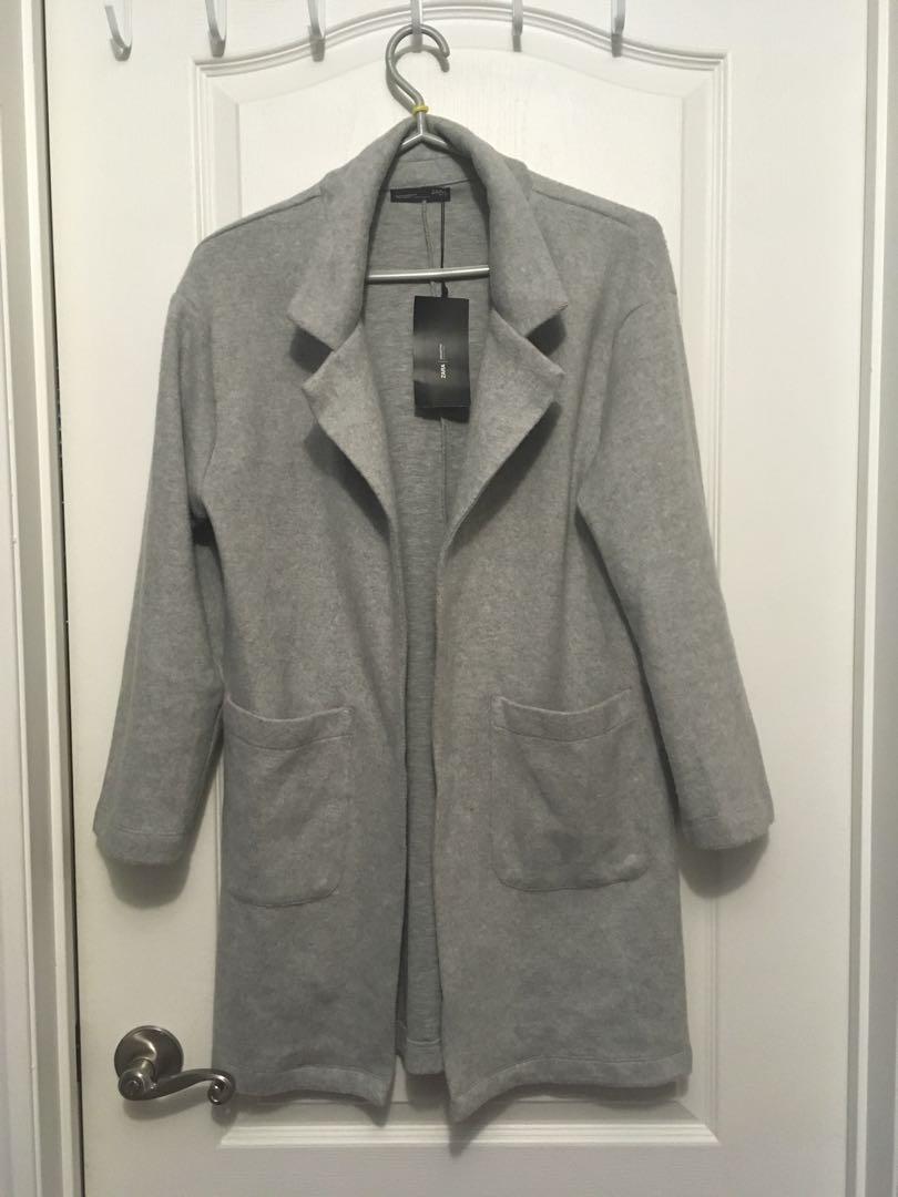Zara oversized cardigan/ jacket BNWT
