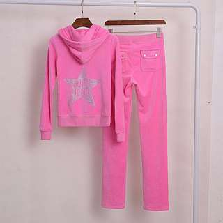 Juicy Couture , Juicy lcon pink tracksuit