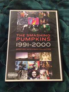 THE SMASHING PUMPKINS 1991-2000: GREATEST HITS VIDEO COLLECTION (DVD)