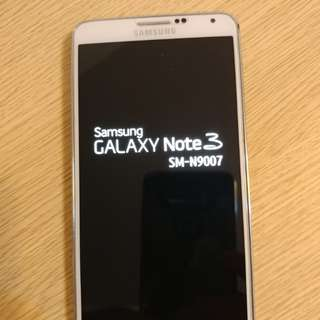 Samsung Galaxy Note 3 4G LTE 16G N9007 white color