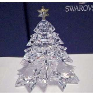 SWAROVSKI SHINING STAR CHRISTMAS TREE RETIRED 1139998 BNIB COA
