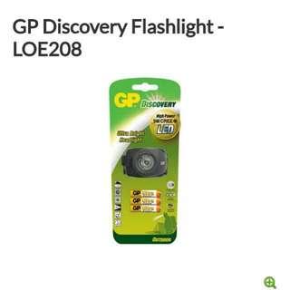 全新GP戶外系列超白光LED防水電筒/頭燈 Headlight - LOE208