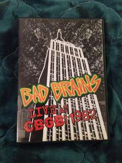 BAD BRAINS - LIVE AT CBGB 1982 (DVD)