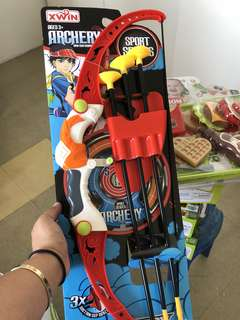 Archery bow and arrow toy for kids