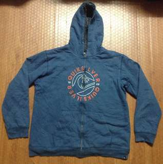 Quicksilver Hoodie Jacket Authentic