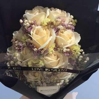 香皂玫瑰花🌹不凋謝❤️
