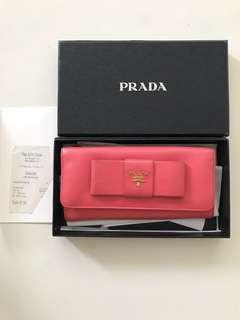 Prada Bow Purse or Wallet