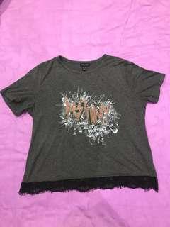 Kaos newlook / New Look t-shirt bigsize