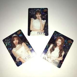Twice Yes!專輯卡part3 閃卡 Momo Sana Na Yeon