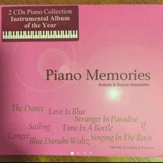 Piano Memories - Ballads & Dance Fabourites ( 2 CD )