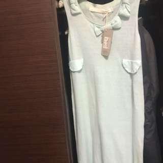 a la sha 長版針織洋裝