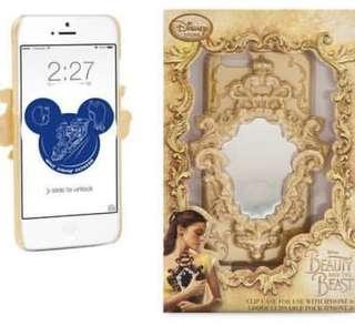 迪士尼正版 美女與野獸魔鏡IPhone 6 手機殻 原價245現售HKD45