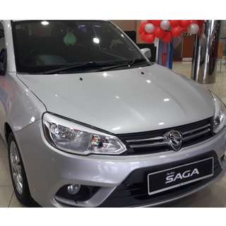 2018 Proton Saga 1.3 Standard (High Rebate +Free Gift+ Full Loan) Only RM 32,000.