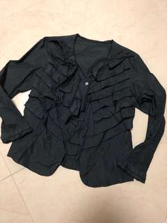 Sold out (Issey Miyake style cecio Japan blazer top)