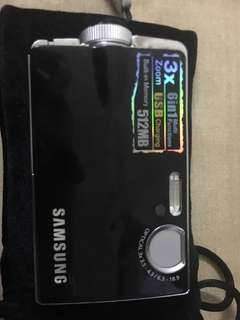 Samsung digital camera 5.25mp