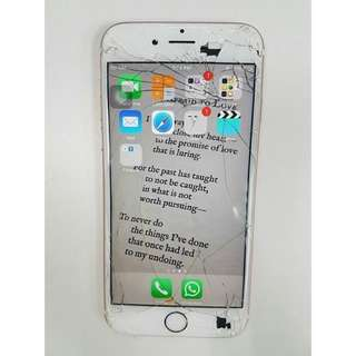 On the spot IPhone crack screen replacement!