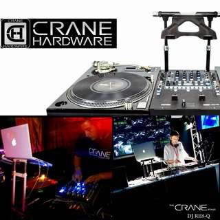 CRANE ELITE LAPTOP STAND for  DJ/ COMMERCIAL/ HOME/ OFFICE/ SCHOOL (UP $349.00) WAREHOUSE PRICE $199