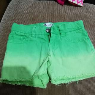 The Children's Place Green Denim Shorts for Girls - Preloved