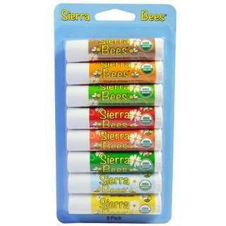 Sierra Bees Organic Lip Balms