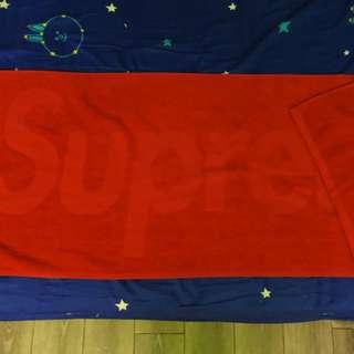 Supreme 浴巾