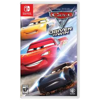 Nintendo switch cars 3 game (new)
