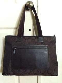 LAYAWAY OK Authentic Gucci Tote Ziptop Bag