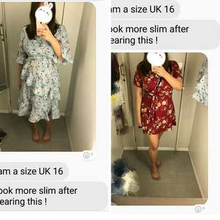 Floral Dress plus size