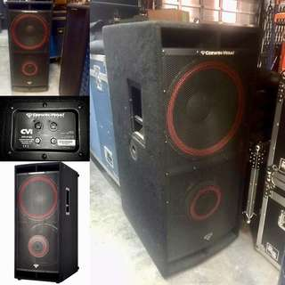 """Cerwin-Vega Professional 2,400 Watts Passive PA Contra 2 x 18"""" Subwoofer (UP $1,748.00) WAREHOUSE PRICE $900 (1 UNIT)"""