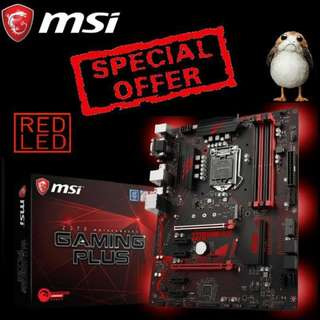 MSI Z370 GAMING PLUS. (Special Offer till Mar 2018 Ends..)