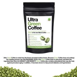 Ultra Green Coffee - The World's Healthiest Coffee
