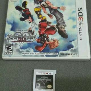 Nintendo 3ds game- Kingdom hearts
