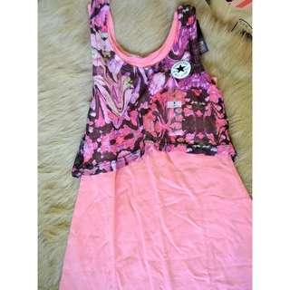 Converse dress for kids (pink)