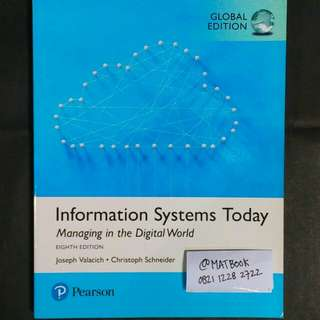 Information Systems Today 8ed